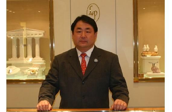 六甲山の上美術館矢野館長 - コピー