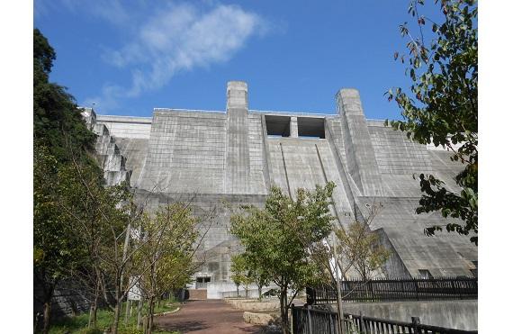 石井ダム201610月