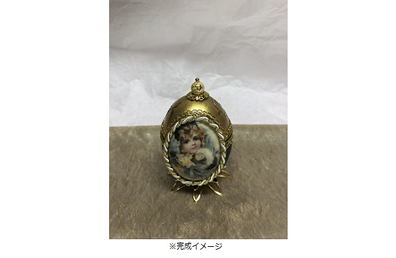エッグアートの宝石箱1