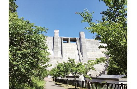 石井ダム(8マスターズチラシ)