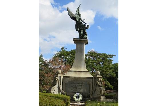 外国人墓地公開