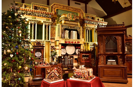 オルゴールミュージアムのクリスマス ヘンゼルとグレーテルとお菓子の家1