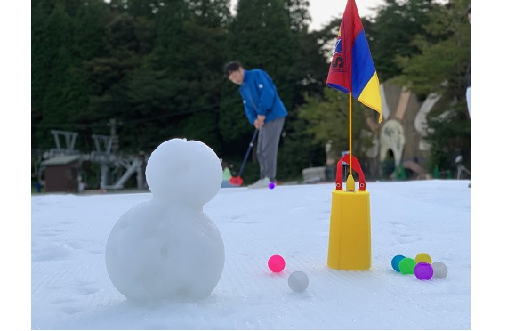 Night Snow Golf in 六甲山 ~Christmas Special~2019.10