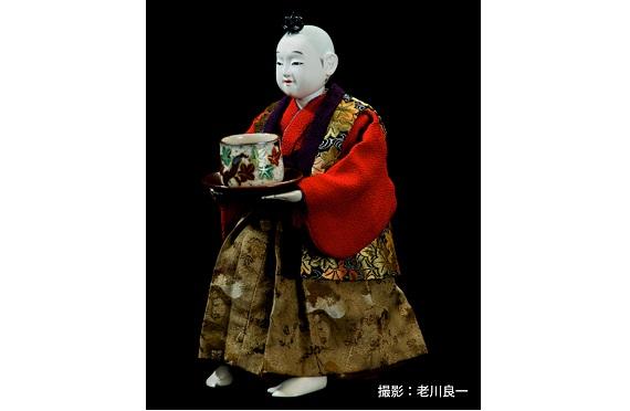 九代玉屋庄兵衛茶運び人形(クレジット入り)2019.11